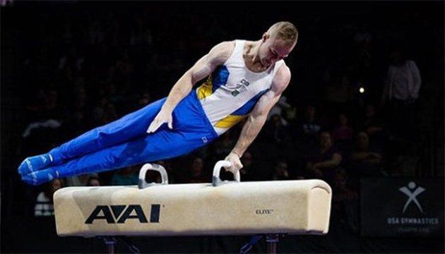 Гімнаст Пахнюк виборов медаль на етапі Кубка світу в Чикаго