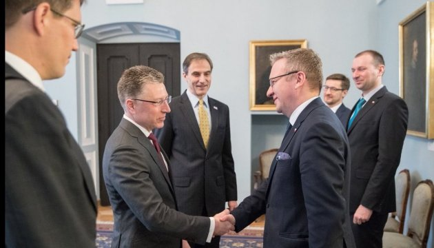 Volker, Szczerski discuss response to Russian aggression