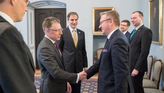 Volker et Szczerski ont discuté de l'agression russe