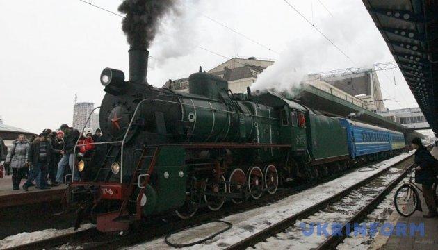 8 березня у Києві курсуватиме ретропоїзд