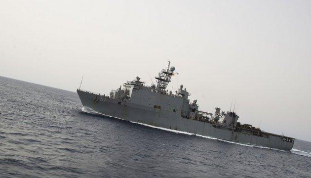 Корабль США с морскими пехотинцами на борту вошел в Черное море