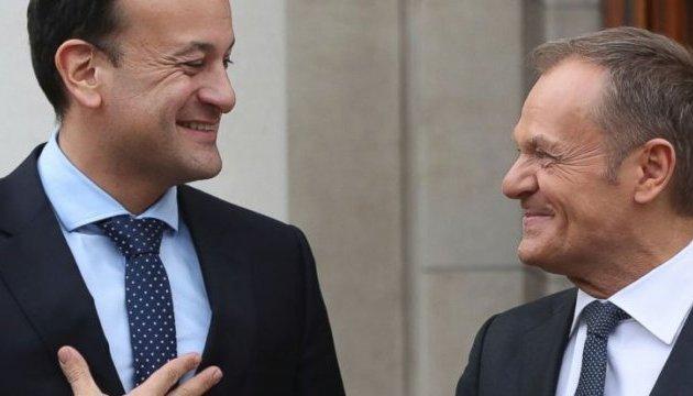 Туск попереджає, що доля Brexit залежить від вирішення ірландського питання