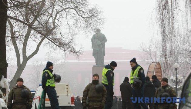 У Києві поліція очепила парк Шевченка