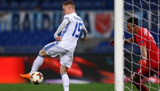 Циганкова визнали кращим гравцем тижня в Лізі Європи