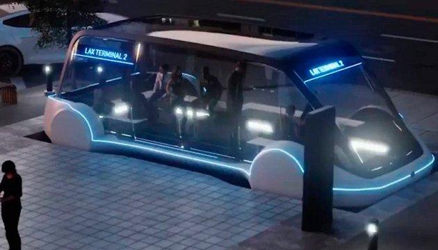 Маск показал свой будущий подземный электробус