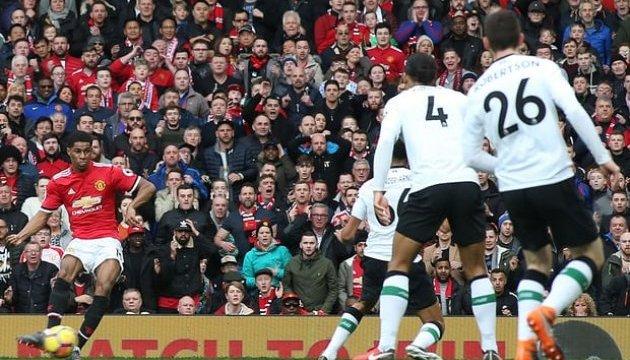 АПЛ: «Манчестер Юнайтед» переміг «Ліверпуль»