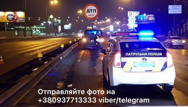 У Києві нацгвардієць потрапив під колеса, надаючи допомогу збитому пішоходу