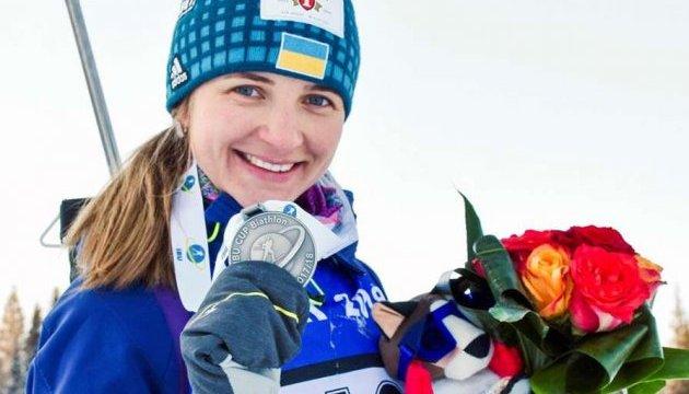 Біатлон: Юлія Журавок – третя в спринті на етапі Кубка IBU