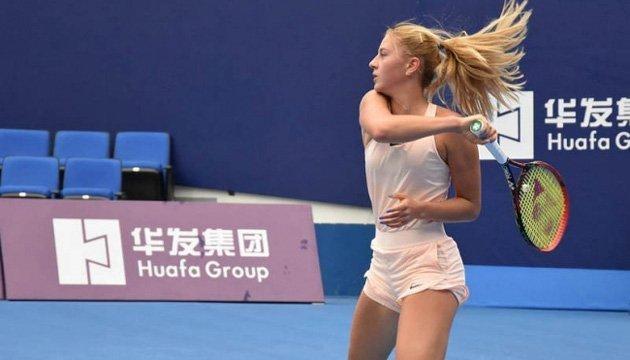 Теніс: Костюк зіграє з Йорович на старті турніру ITF у Шеньчжені