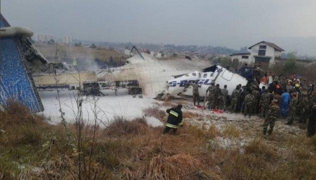 Кількість жертв аварії літака у Непалі зросла до 50 осіб