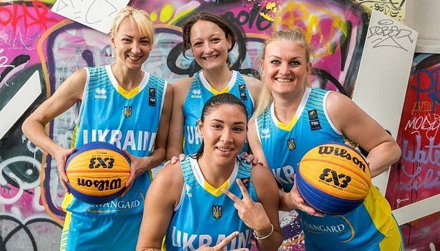 Баскетбол: женская сборная Украины 3х3 поднялась на второе место в мировом рейтинге