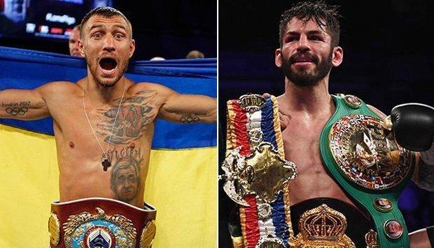 Бокс: Ломаченко і Лінарес підписали контракт на бій