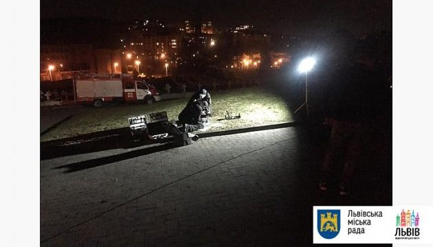 Во Львове возле польского Мемориала орлят произошел взрыв