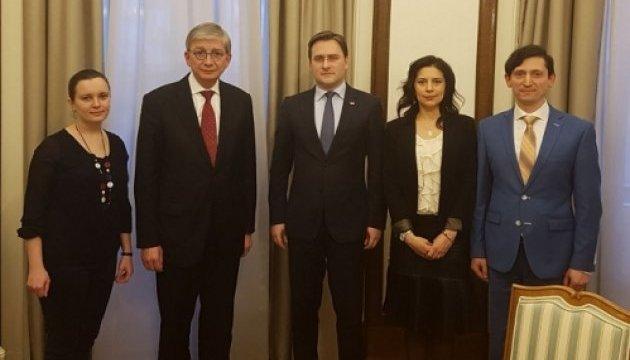Президент СКУ здійснив візит до Сербії