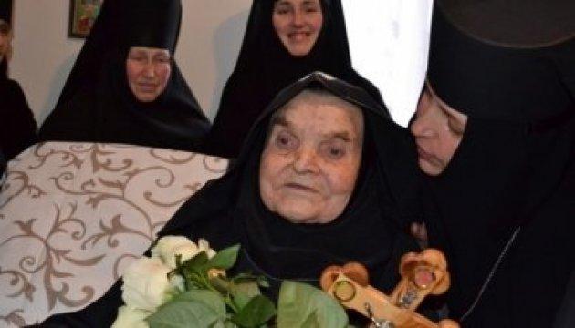 Найстарішій схимонахині України в Житомирі зробили операцію на оці