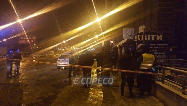 У Києві чоловік жбурнув вибуховий пристрій у поліцейських