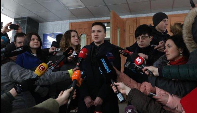 Савченко перепросила Парубія, що переплутала його з Пашинським