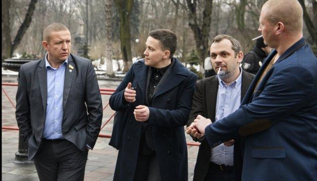 Савченко заявляет, что Луценко