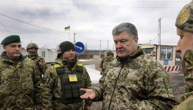 Росія вважає війну на Донбасі першим етапом війни з НАТО — Порошенко