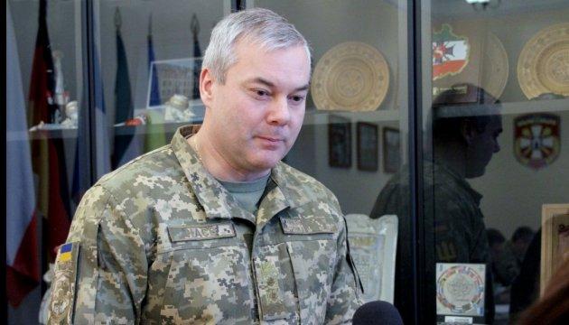 Ostukraine Serhij Najew wird Kommandeur der Vereinigten Kräfte