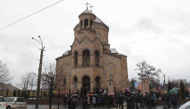 У Дніпрі освятили найбільший у Східній Європі вірменський храм