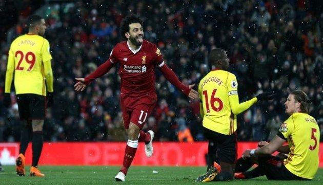 АПЛ: «Ліверпуль» розгромив «Вотфорд», Салах забив чотири м'ячі