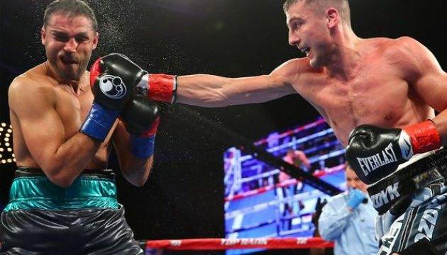 Бокс: Гвоздик победил Амара и завоевал чемпионский пояс WBC