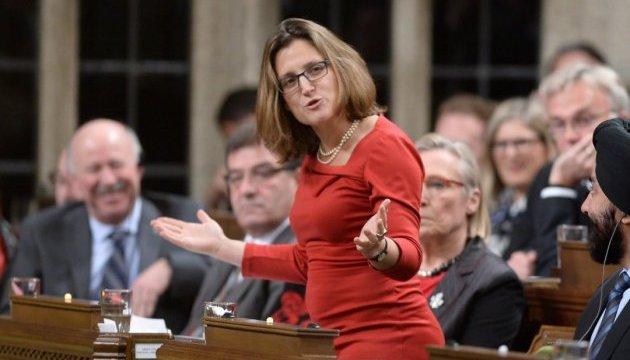 Канада пропорційно введе додаткові мита на американські товари – Фріланд