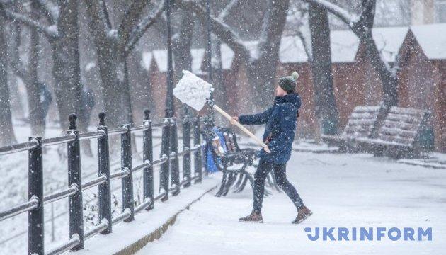 Українцям на понеділок обіцяють до 14° морозу