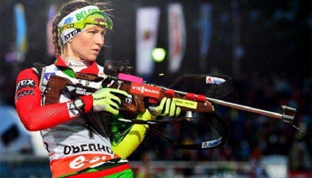 Біатлон: жіночий персьют етапу Кубка світу виграла Домрачева, Джима - п'ята