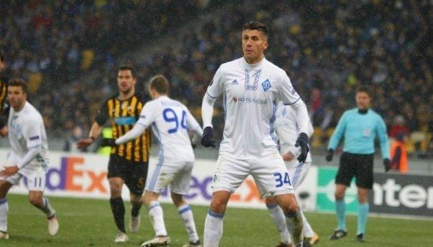 ЗМІ: Хачеріді відсторонили від тренувань з першою командою «Динамо»