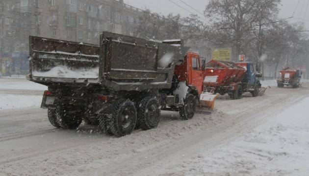 Усі дороги розчищені від снігу - Укравтодор