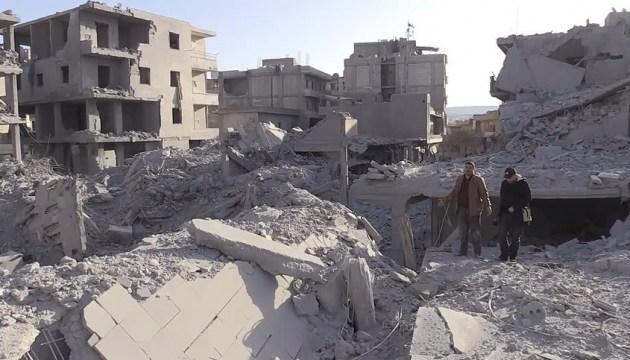 Авиация Асада и РФ нанесла удары по югу Сирии, 46 погибших