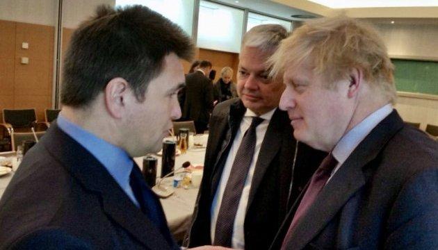 Україна готова допомогти Британії у розслідуванні хіматаки – Клімкін