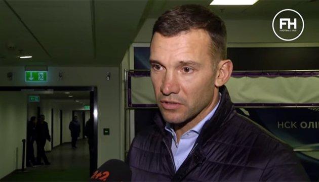 Андрей Шевченко: Ребров дал нам информацию по поводу сборной Саудовской Аравии