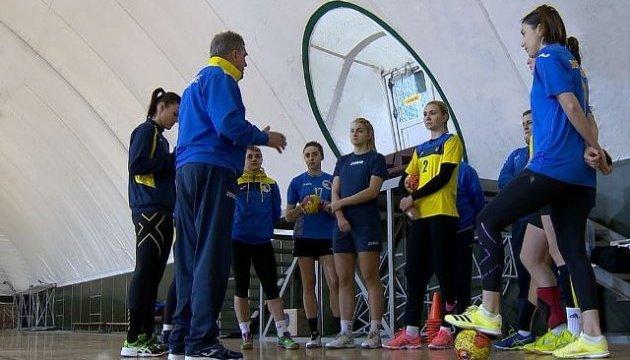 Гандбол: сборная Украины отправилась в Швейцарию на отборочный матч Евро-2018