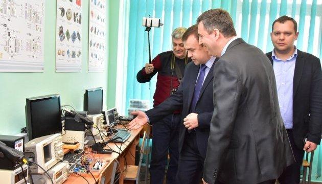 В Черкасском университете открыли цифровую лабораторию