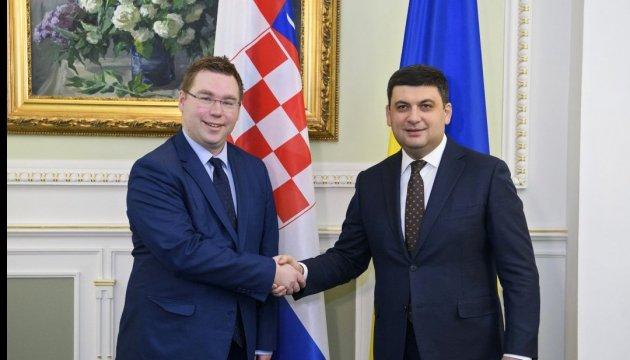 L'Ukraine et la Croatie renforcent leur coopération dans le secteur social