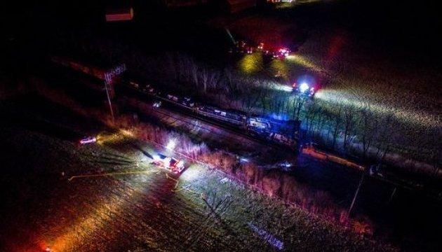 Пожежа та евакуація цілих кварталів: у Кентуккі зіштовхнулися два потяги