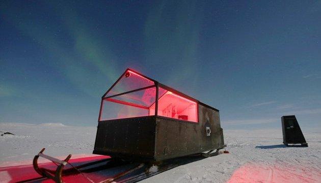 Готель-санчата допоможе туристам вполювати Північне сяйво