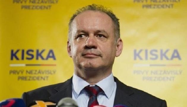 Президент Словакии планирует уволить руководство полиции