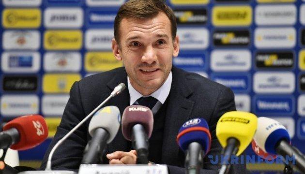 Андрей Шевченко: Хотелось бы, чтобы в сборной Украины была выше конкуренция