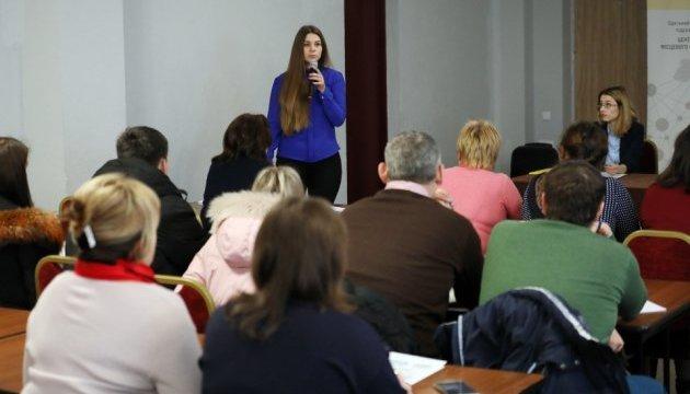 В Одесі представників тергромад вчили надавати публічні послуги населенню