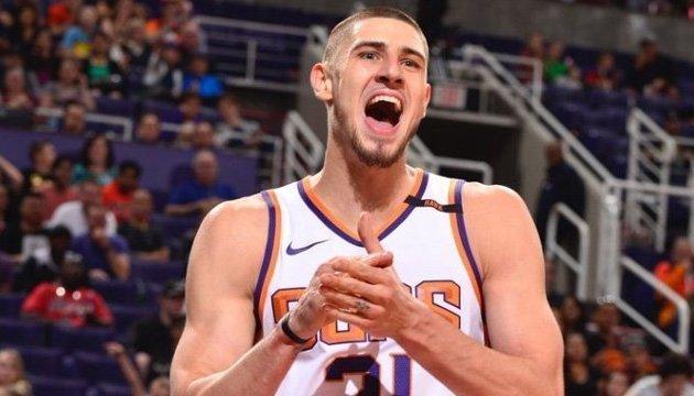 Баскетбол: украинец Лень оформил десятый дабл-дабл в сезоне НБА