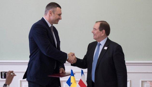 Kyiv et la Métropole du Grand Paris ont signé un accord de coopération