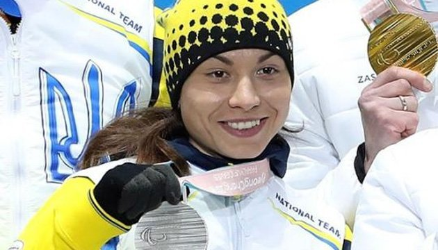 Оксана Шишкова першу медаль Паралімпіади-2018 присвятила воїнам АТО