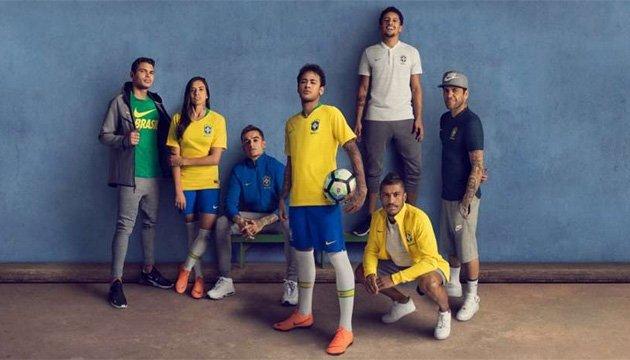 Бразилия представила форму к чемпионату мира-2018 по футболу