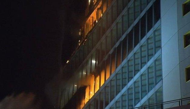 В Дублине горела гостиница