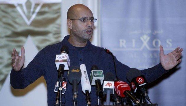 Син Каддафі заявив про наявність у нього доказів проти Саркозі