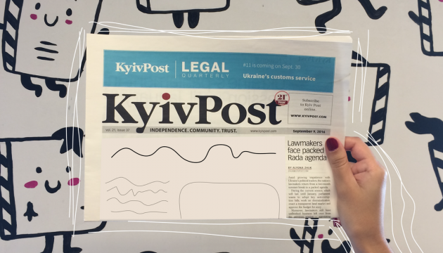 Kyiv Post, le journal ukrainien en langue anglaise le plus lu du pays est mis en vente